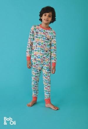 Pyjama en tricot pour garçon - organique_1