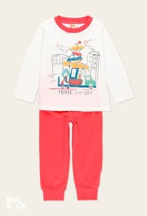 Knit pyjamas for boy - organic_1