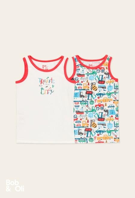 Pack 2 camiseta para menino - orgânico_1