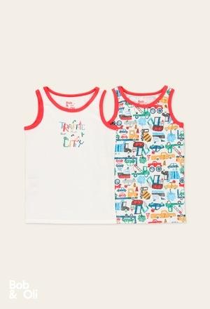 Pack 2 magliette per ragazzo - organico_1