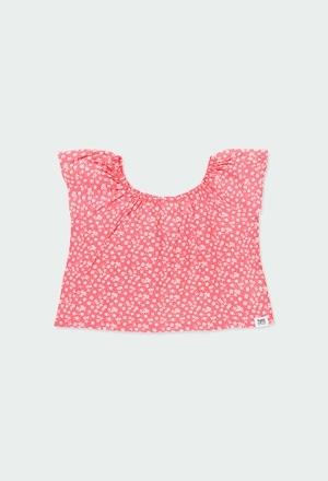 Blusa viscose floral para menina_1