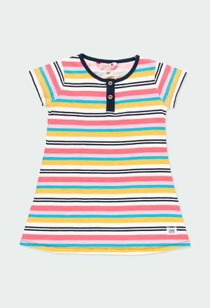 Vestido canalé de niña_1