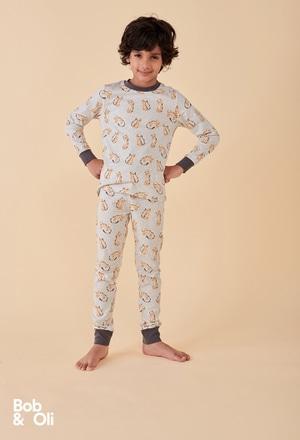Schlafanzug gestrickt für junge - organic_1