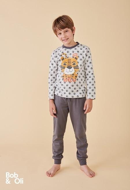 "Pijama ""tigre"" de niño - orgánico_1"