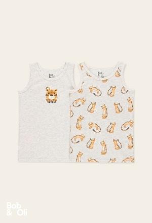 Pack 2 camisetas de niño - orgánico_1