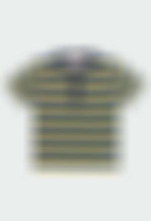 T-Shirt tricot avec rabat a boutons pour garçon