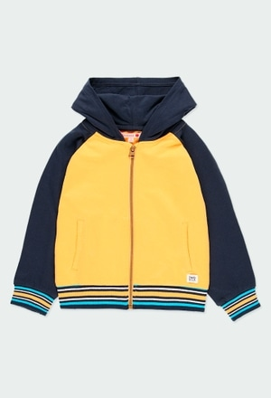 Fleece jacket flame for boy_1