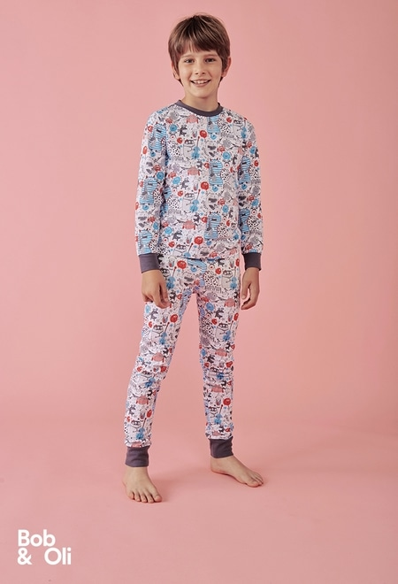 Pijama para menino - orgânico_1