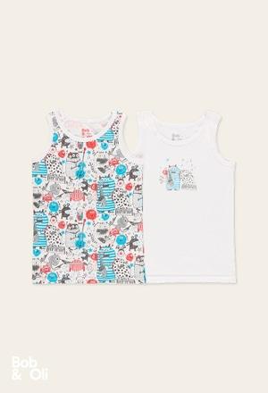 Pack 2 t-Shirts for boy - organic_1