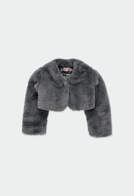 Bolero fur for baby girl_1