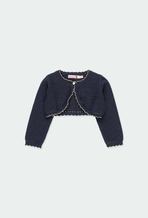 Bolero strick für baby mädchen_1