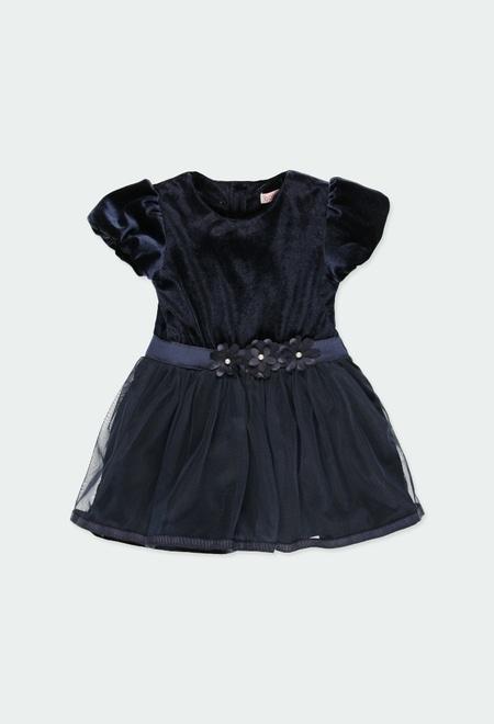 Robe bi matiere pour bébé_1