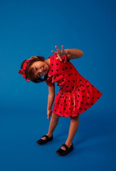 Dress fantasy for baby girl_1