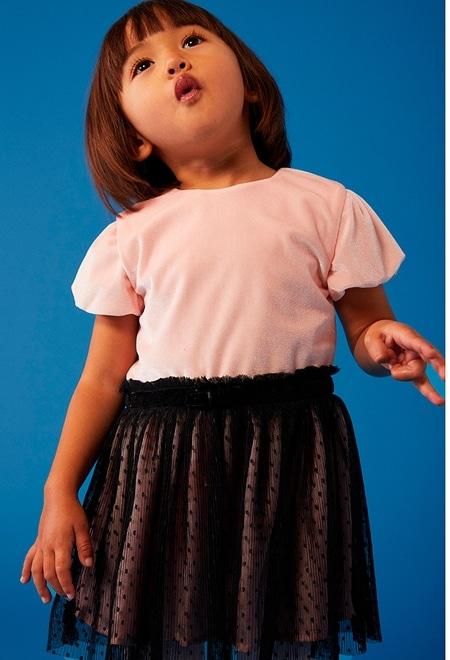 Velour dress for baby girl_1