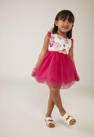 Kleid mit tull kombiniert für baby mädchen_1