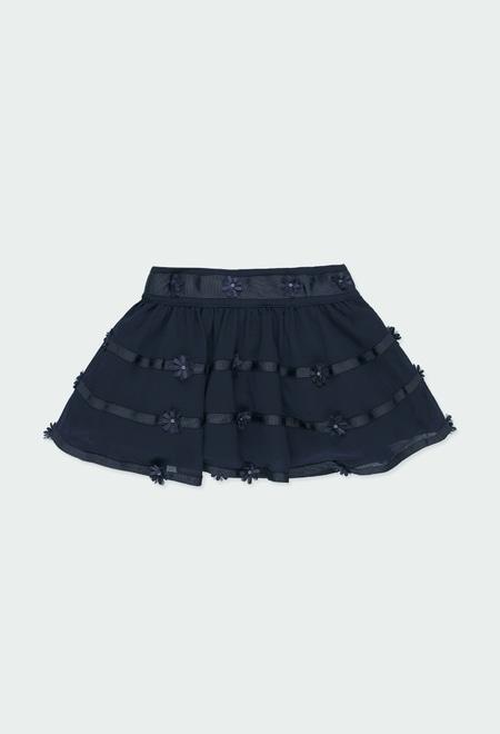 Skirt gauze for baby girl_1