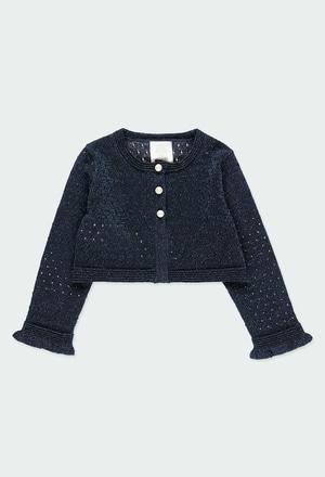 Casaco tricot para o beb? menina_1
