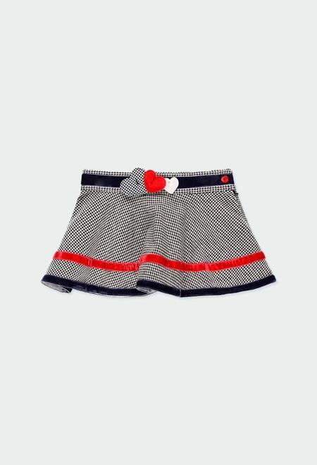 Knit skirt for baby girl_1