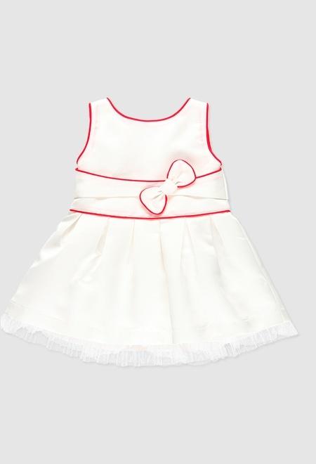 Vestido de tejido fantasía de bebé niña_1