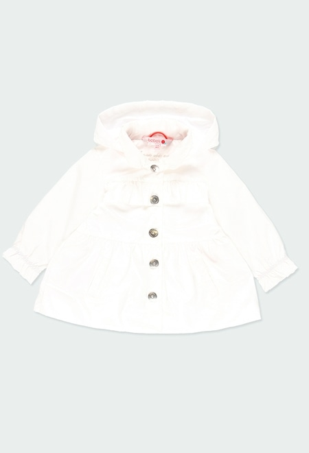 Technical fabric trench for baby girl_1