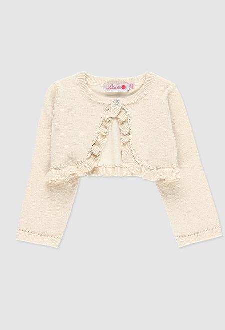 Bolero tricotosa de bebé niña_1