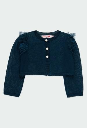 Giacchetta tricot per bimba_1
