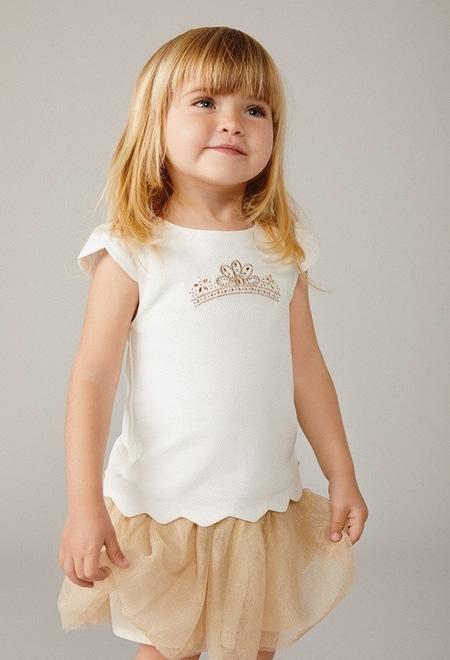 Vestido piqué de bebé niña_1