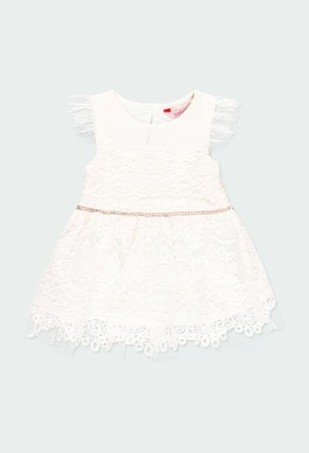 Vestido guipure para o bebé menina_1