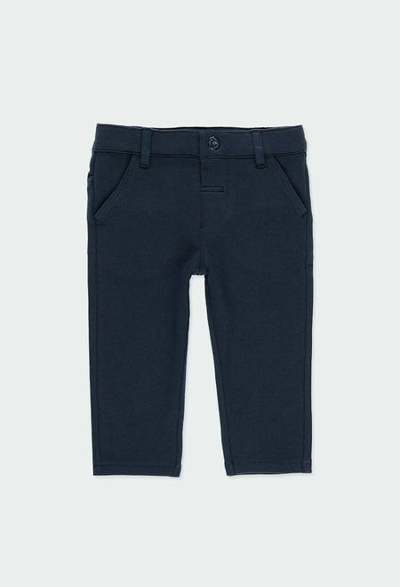 Pantalon en molleton stretch pour bébé garçon_1