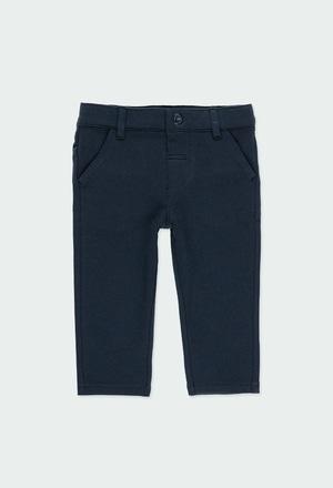 Pantaloni felpati elasticizzati per bimbo_1
