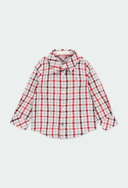 Hemd popelin kariert für baby junge_1