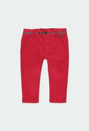 Pantalon en toile stretch pour bébé garçon_1
