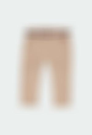 Pantalon en toile stretch pour bébé garçon
