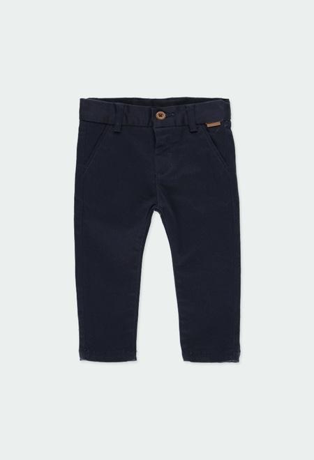 Pantalon stretch en satin pour bébé garçon_1