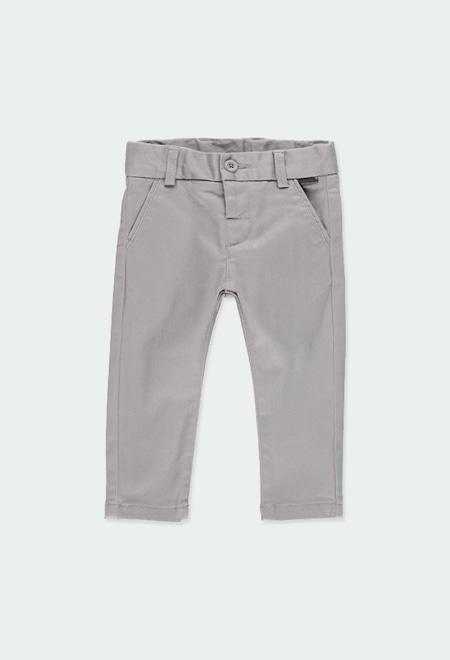 Pantalón satén elástico de bebé niño_1