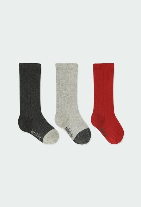 Lange Socken für baby junge_1