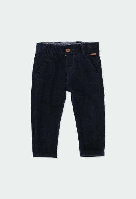 Pantalon en velours côtele élastique pour bébé garçon_1