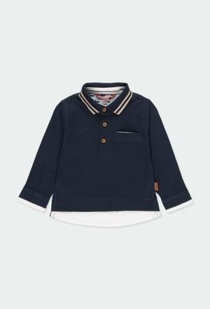 Polo grestickt kombiniert für baby junge_1