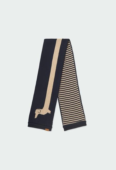 """Écharpe en tricot """"chiot"""" pour bébé_1"""