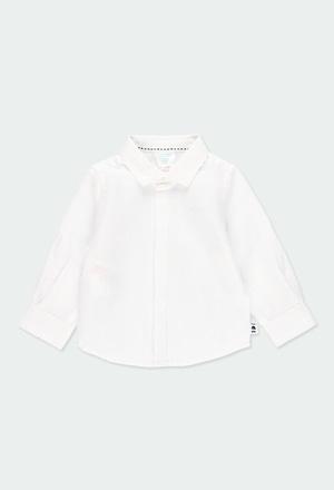 Camisa linho manga comprida para o bebé menino_1