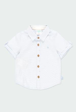 Camisa fantasia para o bebé menino_1