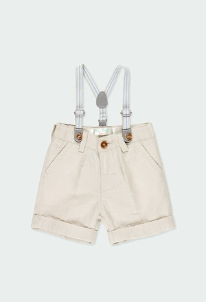 Leinen kurze hose für baby junge_1