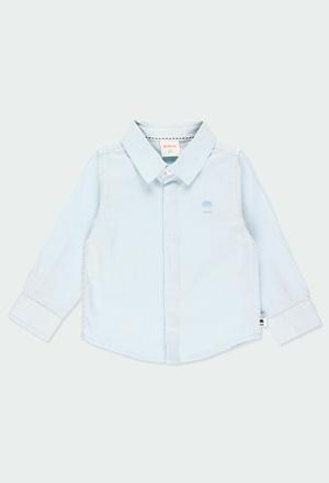 Camisa de tejido espiga de bebé niño_1