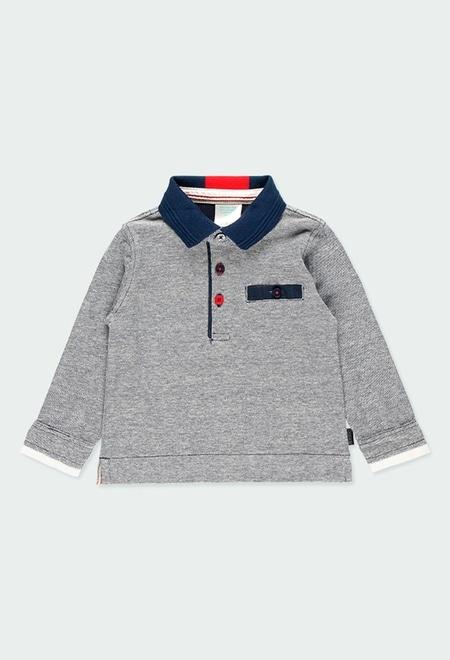 Polo avec coudières pour bébé garçon_1