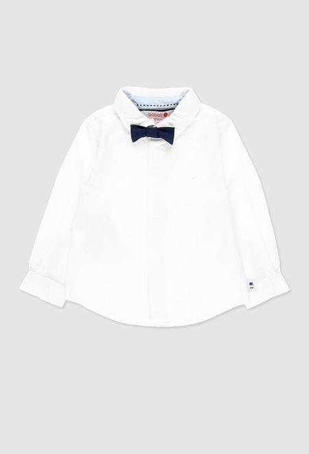 Camisa oxford manga larga de bebé niño_1
