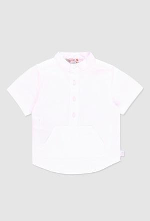 Hemd leinen kurze ärmel für baby junge_1