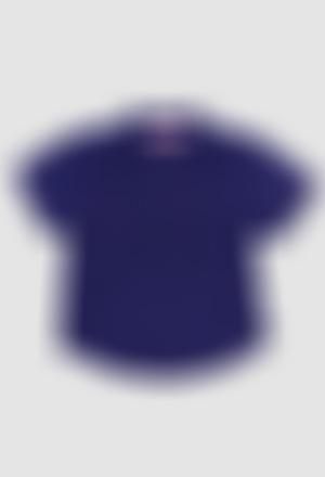 Camisa lino manga corta de bebé niño