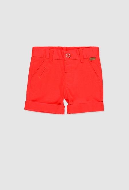 Satin bermuda shorts stretch for baby boy_1