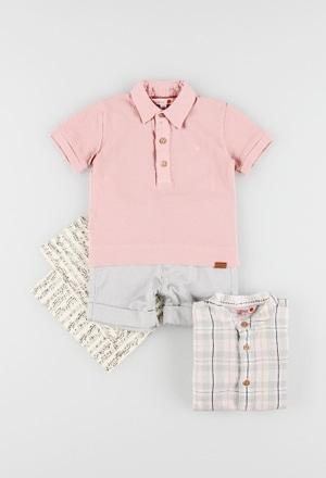 Pique polo for baby boy_1