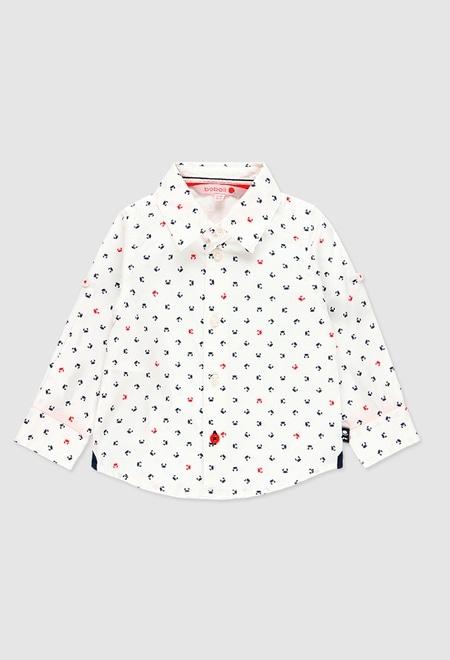 Chemise en popeline pour bébé garçon_1